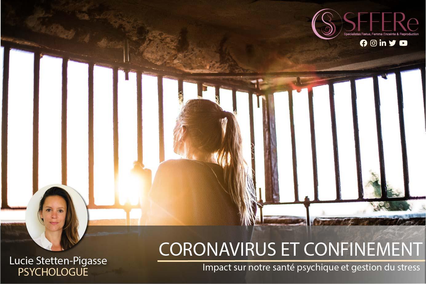 CORONAVIRUS ET CONFINEMENT (Partie 1)